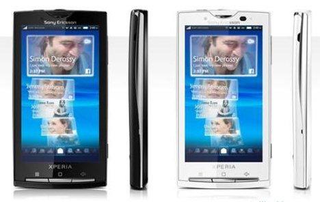 Le X10 sous Android apparait sur le site de Mobistar et de Proximus