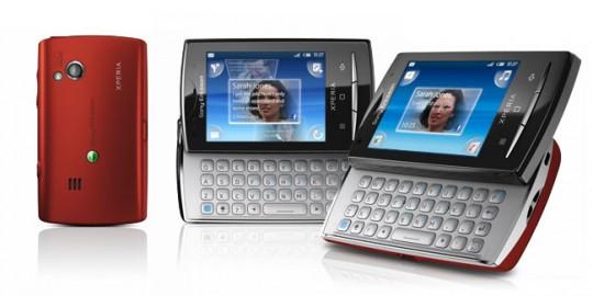 Sony Ericsson XPERIA X10 Mini et Mini Pro : prix et disponibilités en France et Belgique