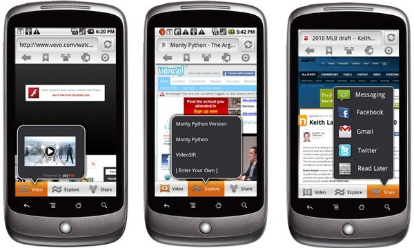 Skyfire 2.0 disponible pour nos mobiles Android