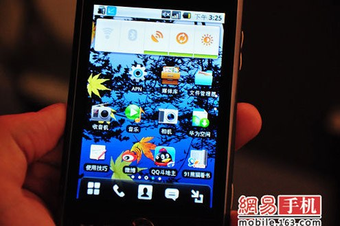 Huawei C8600 sous Android 2.1 !