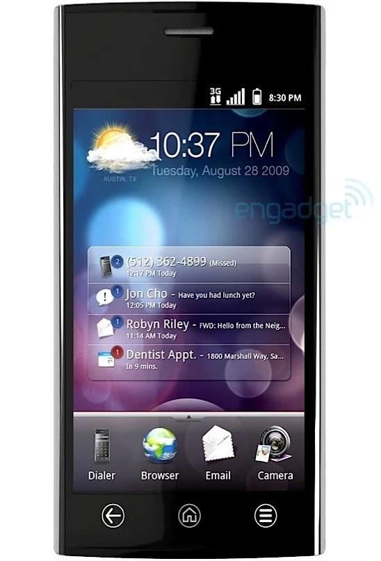 Dell présente le Thunder, un androphone survitaminé !