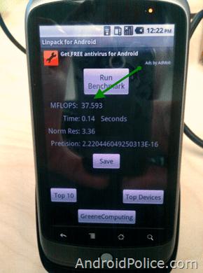 Android 2.2 alias Froyo serait 4,5 fois plus rapide grâce à JIT