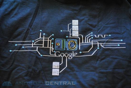 Curiosité : Où mènent les codes QR sur le tee-shirt officiel Google I/O ?