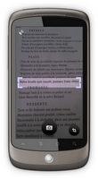 Google Goggles apporte la traduction !