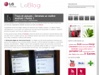 FrAndroid sur le blog LG France
