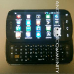 Samsung Galaxy S Pro : Quelques caractéristiques