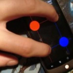 HTC Desire HD : Test rapide de l'écran Multi-touch