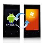 WinDroid : le téléphone sous Android et Windows Mobile