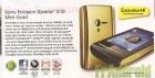 (Exclu) The Phone House : Sony Ericsson X8 et X10 Mini Gold