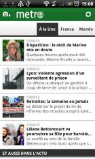 (exclu) Découverte de l'application Metro France pour Android