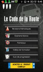 Le code de la route sur Android !