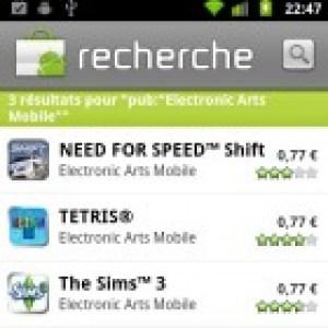 EA Mobile fait une promotion de tous ses jeux Android