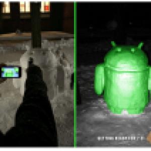 L'Android de neige