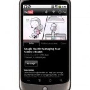 L'application YouTube sous Android passe en version 2.1.6