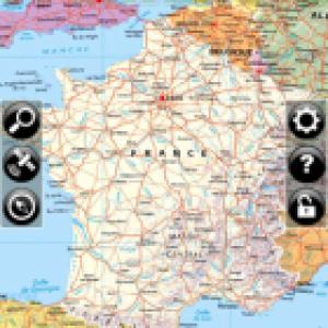 L'application Geolives France a été mise à jour