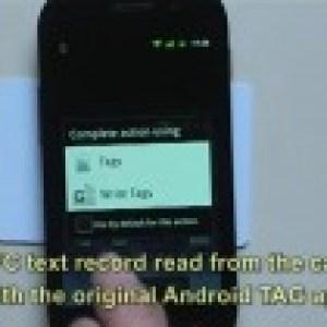 Google Nexus S : La puce NFC fonctionne en écriture