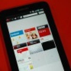 Opera pour tablettes montré au CES