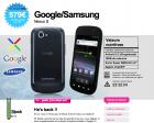 Qoqa : Le Google Nexus S est de retour !
