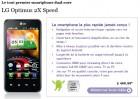 Le LG Optimus 2X est disponible en pré-commande chez l'opérateur belge Proximus