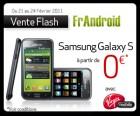 Virgin Mobile et FrAndroid : Le Samsung Galaxy S à 0 euro