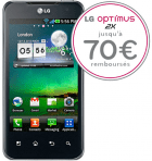Prix et disponibilité du LG Optimus 2X chez SFR