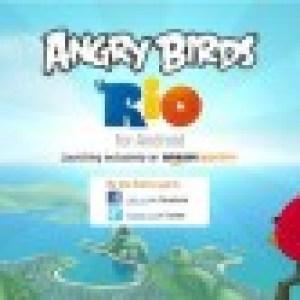 Le jeu Angry Birds Rio sera bientôt disponible en exclusivité sur Amazon Appstore
