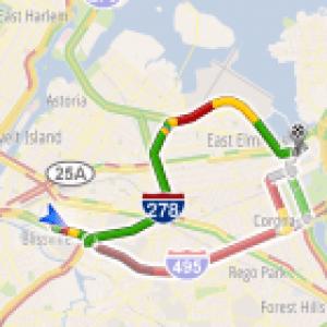 Google Maps Navigation prend maintenant en charge l'état du trafic routier