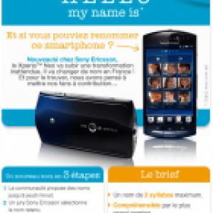 Sony Ericsson lance un concours pour renommer le Xperia Neo en France