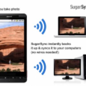 SugarSync peut maintenant synchroniser automatiquement des dossiers et des photos