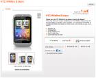 Le HTC Wildfire S est disponible chez Orange
