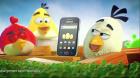 La publicité avec Angry Birds et le Samsung Galaxy Ace vient d'être diffusée (Vidéo)