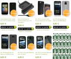 De nouveaux accessoires sur notre boutique pour l'Atrix, l'lncredible S, l'Optimus 2X et le Xperia Arc