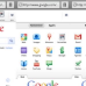 Une interface retravaillée pour Google mobile
