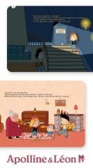 Apolline & Léon : histoire interactive pour les plus jeunes
