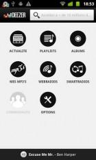 Deezer 3.0 fait peau neuve sur l'Android Market