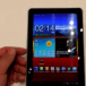 Prises en main vidéos des Samsung Galaxy Tab 7.7 et Note par GPSAndCo