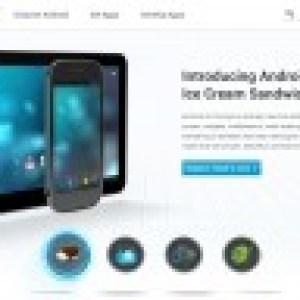 Le site officiel Android.com dévoile une tablette sous Ice Cream Sandwich, et un Easter egg