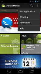 Google veut mettre fin au bouton Menu sur Android