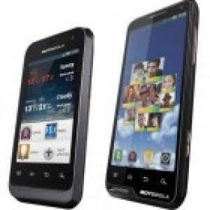 Motorola annonce deux nouveaux smartphones : Motolux (XT615) et Defy Mini (XT320)