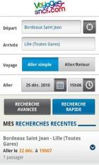 Voyages-sncf.com sort son application de réservation