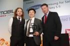 MWC 2012 : Le Samsung Galaxy S II reçoit le prix du meilleur smartphone de l'année lors des Global Mobile Awards