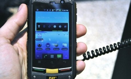 Caterpillar sort son premier smartphone Android