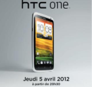 HTC vous invite à fêter la sortie du HTC One X
