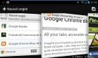 Google Chrome, la dernière mise à jour permet de retrouver ses onglets n'importe où