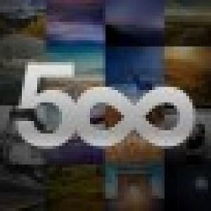 Le site de partage de photos 500x lance enfin son application Android