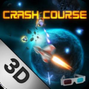 Crash Course 3D, un jeu de tir spatial compatible avec les lunettes anaglyphes
