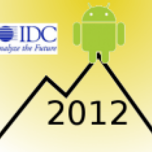 Android atteindra son pic en 2012 selon IDC
