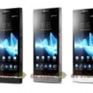 Des photos du Sony Xperia SL (successeur du Xperia S)