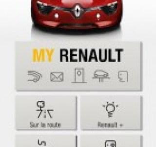L'application MyRenault simplifie la vie des conducteurs