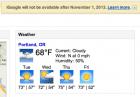 Google stoppe son API pour récupérer la météo : de nombreuses applications ne fonctionnent plus